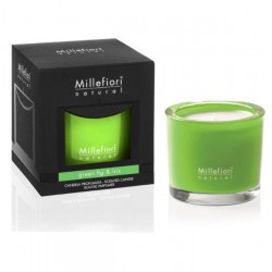 Millefiori Natural Candela Green Fig & Iris
