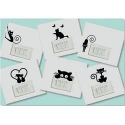 Stickers Cats - Small